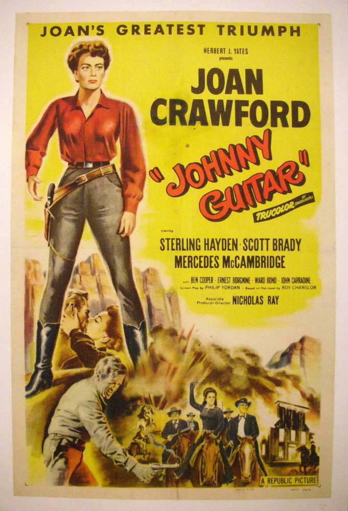 original vintage movie poster after restoration